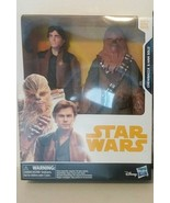 STAR WARS: 2 FIGURE ACTION PACK HAN SOLO & CHEWBACCA 10in TOYS - FREE SH... - $32.73