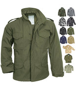 Camo Military M-65 Field Coat Camouflage Army M65 Tactical Uniform Jacke... - $84.99+