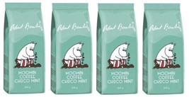 Robert Paulig Moomin Coffee Choco Mint 200g Ground x 4 packs - $56.93