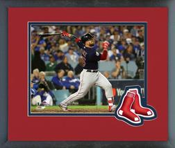 Steve Pearce Home Run Game 5 of the 2018 World Series-11x14 Matted/Framed Photo - $42.95