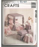 """McCalls #8140 11-1/2"""" Barbie Furniture Pattern  - $6.00"""