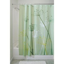 InterDesign Thistle Shower Curtain Standard Green Curtains Bath Home Gar... - $31.95