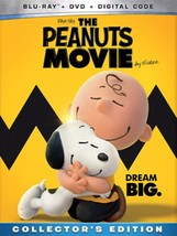 The Peanuts Movie Collector's Edition Blu-ray + DVD + Digital Code NEW - $12.48