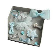 Hair Accessories Baby Little Girls Hair Clips Bows Barrettes Hairpins Set - $24.40