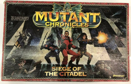 Mutant Chronicles: Siege of the Citadel Board Game 1993 Pressman Rare In... - $46.74