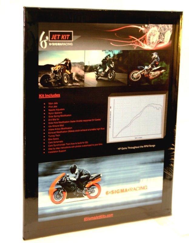 1979 Honda CBX1000 CBX 1000 SuperSport Super Sport Carburetor Stage 1-3 Jet Kit