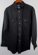Wrangler Painted Desert Shirt Black  - MP4282X Size Large 15.5 x 33 - $18.80