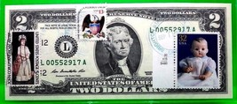 MONEY US $2 DOLLARS FEDERAL RESERVE NOTE 2009 AMERICAN DOLLS BABY COOS G... - $82.53