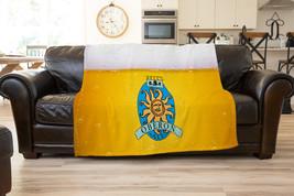 Oberon Beer Logo Fleece Blanket Ultra soft Gift  Cozy Comfort Blanket - $34.99+