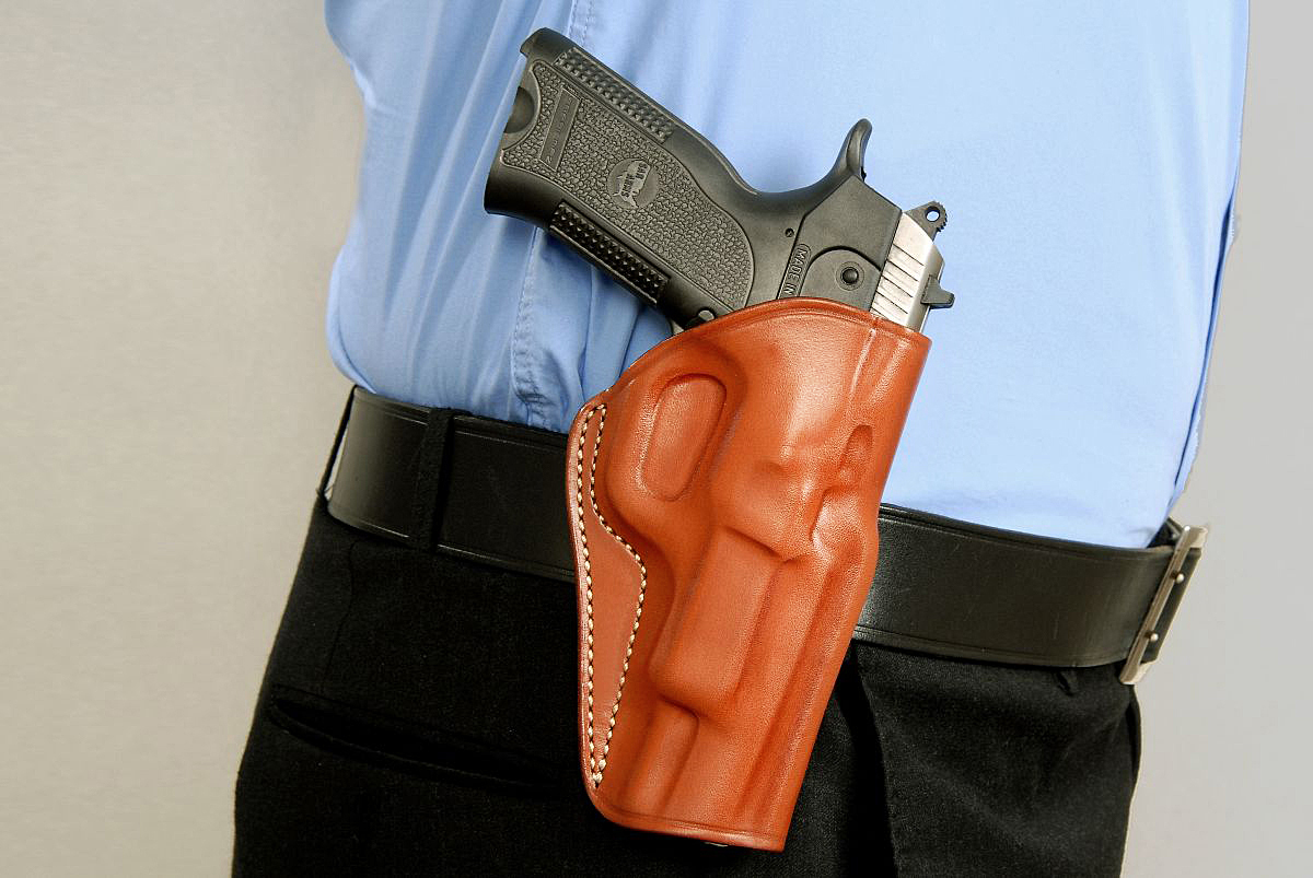 Leather Paddle Holster Fits Ruger and 50 similar items