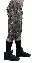 LRG Hombre Caqui Lobo Camuflaje Unnatural Paleta Cargo Pantalones Cortos 28 image 4