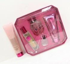 Victoria's Secret BOMBSHELL Eau De Parfum,Shimmer Oil, Wash, Scrub Fragrance Set image 2