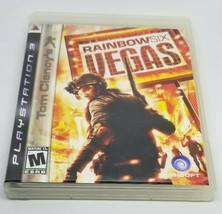 Tom Clancy's Rainbow Six: Vegas (Sony PlayStation 3, 2007) - $11.87