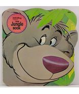 Walt Disney Presents The Jungle Book A Golden Shape Book - $2.99