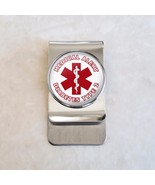 Choose Message Medical Alert Stainless Steel Money Clip - $20.00