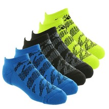 ADIDAS Climalite No Show Boys' Tiger Socks 6 Pack Youth Size (13C-4Y) - $18.74