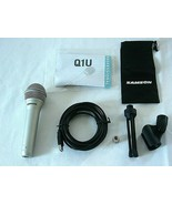 Samson Q1U USB Microphone - For Music, Recording, and Conferencing - $55.17