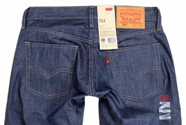 LEVI'S STRAUSS 514 MEN'S ORIGINAL SLIM FIT STRAIGHT LEG JEANS 514-0357