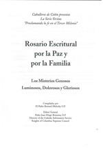 Rosario Escritural por la Paz y por la Familia image 2