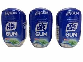 3 x Tic Tac FRESHMINT Sugar Free Gum 170 Pieces Each BBD 01/2021 Discont... - $29.69