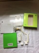 Apple iPod Shuffle 1st generation 512MB White M9724LL/A Manual, Box Bundle - $39.95