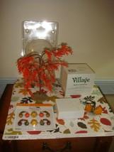 Dept 56 Halloween Village Access. Jack-O-Lanterns, Harvest Gourds, & Lem... - $53.99