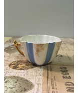 Vintage Single Blue & White Bone China Demitasse Cup Ring Holder Pincush... - $0.00