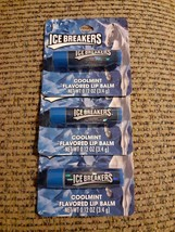 3x Icebreakers Coolmint Flavored Lip Balm .12 oz. ea. NIP Fresh Breath - $15.67