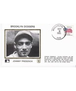 JOHNNY FREDERICK BROOKLYN DODGERS BROOKLYN NEW YORK OCTOBER 9 1995 Z SILK - $2.68