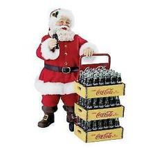 Coca-Cola® Fabriché™ Santa With Delivery Cart Table Piece w - $99.99