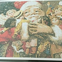Artecy Counted Cross Stitch Pattern Santa Holding Presents Tereena Clark... - $13.50