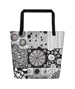 Circle Themed Large Tote Bag - $40.00