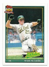 1991 Topps Oakland Athletics Team Set with Traded - $1.70