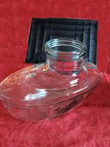 ship glass sweet jar very unusual, rare , no damage, very detailed antique, appr image 2