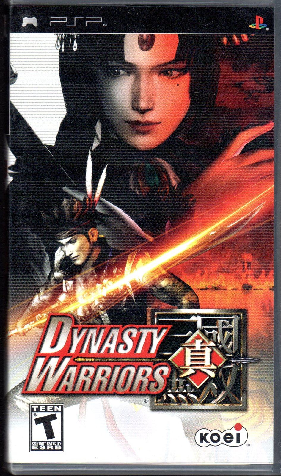 Dynasty Warriors - Playstation Portable