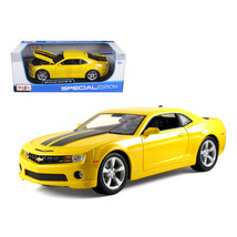 2010 Chevrolet Camaro SS RS Yellow 1/18 Diecast Model Car by Maisto 31173y - $53.45