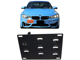JGR No Drilling Tow Front Bumper License Plate Relocation Kit BMW M3 2014-2018 image 4
