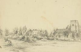 Set of Nine Late 19th Century Graphite Drawings - Landscape Studies - $58.85