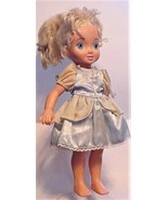"2002 Disney Playmates 15"" Cinderella Doll Blonde Toy - $22.99"