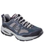 51241 EW Wide Width Navy Skechers shoe Men Memory Foam Sport Comfort Sne... - $49.79