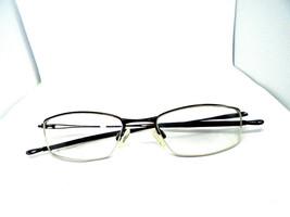 Oakley JACKKNIFE 4.0 Polished Brown 51-19-138 Half Rim Designer Eyeglasses Frame - $29.49