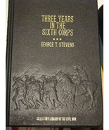COLLECTOR'S LIBRARY CIVIL WAR, THREE YEARS INTHE SIXTH CORP, FREE SHIPPING - $8.64