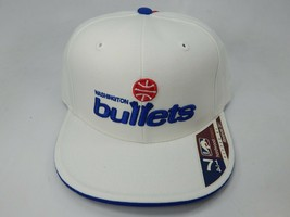 Washington Bullets Wes Unseld Reebok Hardwood Class. Size 7 1/4 NBA Cap Hat - $17.81