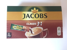 Jacobs 3in1 Instant Coffee Sticks, Pack of 3, 3 x 10 Single Servings - $20.99