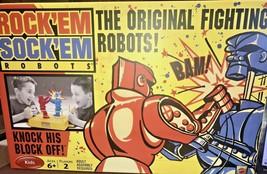 Rock'EM Sock'EM Robots The Original Fighting Robots - $29.99