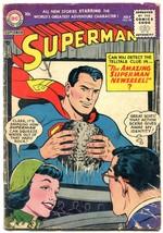 Superman #98 1955- DC Comics- Wayne Boring- Lois Lane G+ - $107.19