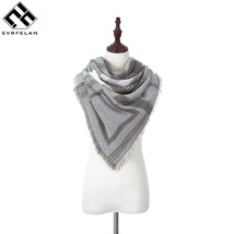 Evrfelan  Scarf  New Fashion Women Square Scarf Printed Ladies Brand Wra... - €15,80 EUR