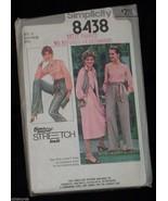 Blouse Skirt Vest Pant 12 14 16 Vtg 1970's SIMPLICITY Sewing Pattern 843... - $6.00