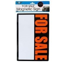 "Magnetic ""For Sale"" Sign - $6.36"