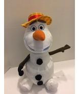 "Disney Animated Olaf Frozen Just Play Large 14"" Plush Dances Sings Talks - $12.19"
